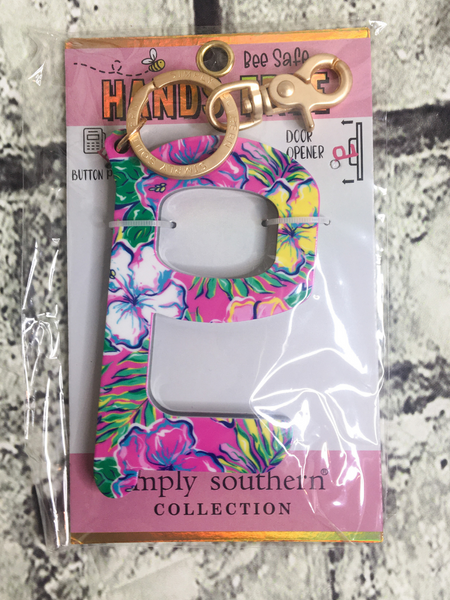 tropical flower print touch tool | shop women's clothing clothes apparel accessories and gifts online or in store at boerne pixie boutique | a favorite of locals and san antonio visitors too