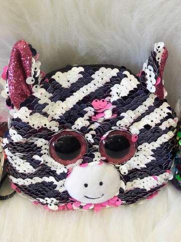 sequin wristlet zoey zebra kids baby girls toddler clothing accessories purse bag boerne pixie boutique shop online or in store