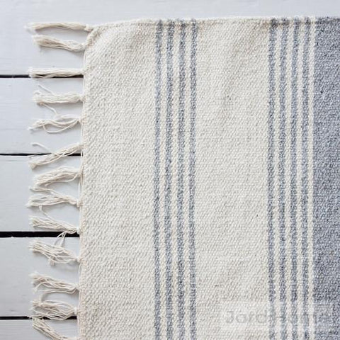 How to clean a cotton rug. Neutral cotton rugs