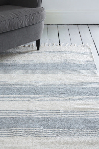 Evá Stripe Rug 100% cotton