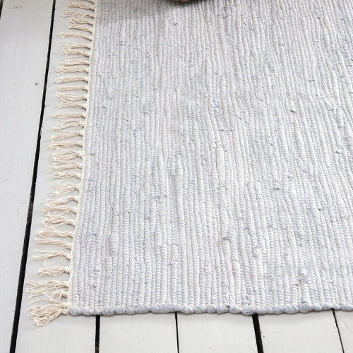 Gáre Flint deep pile cotton rug