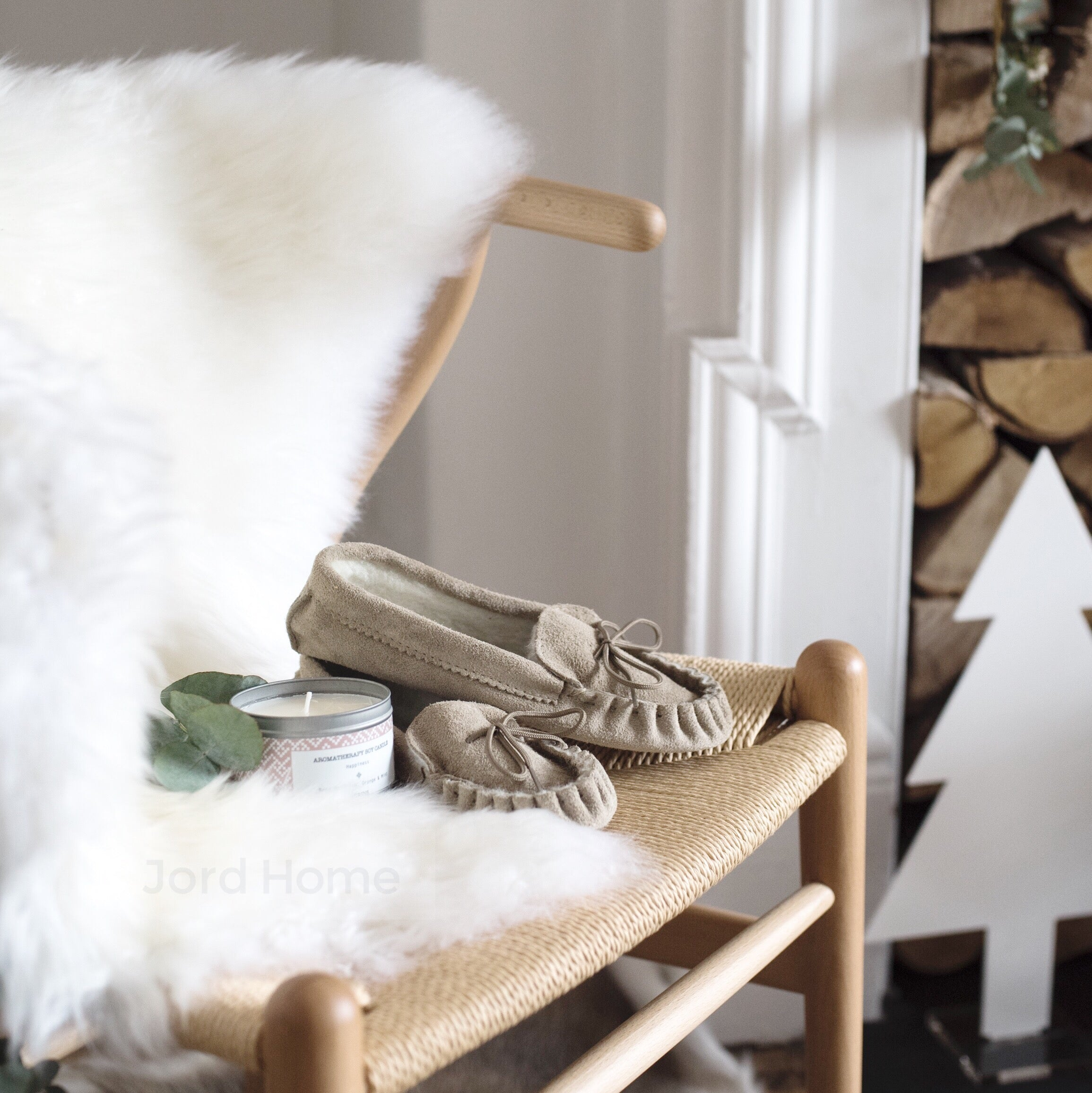 Sheepskin Gift set for her