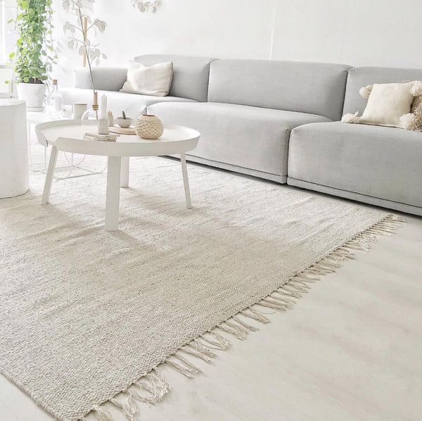 Abbi Oatmeal Cotton Rug