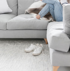 Sofia Textured Cotton Rug
