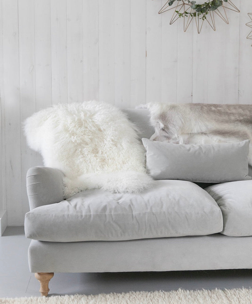 Rarebreed Tibetan Sheepskin in ivory