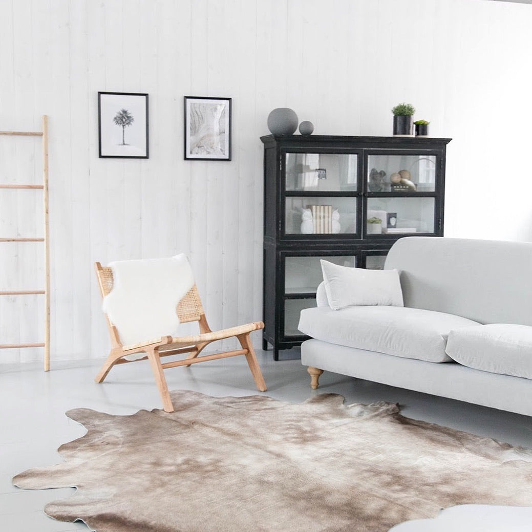 Neutral Cowhide Rug