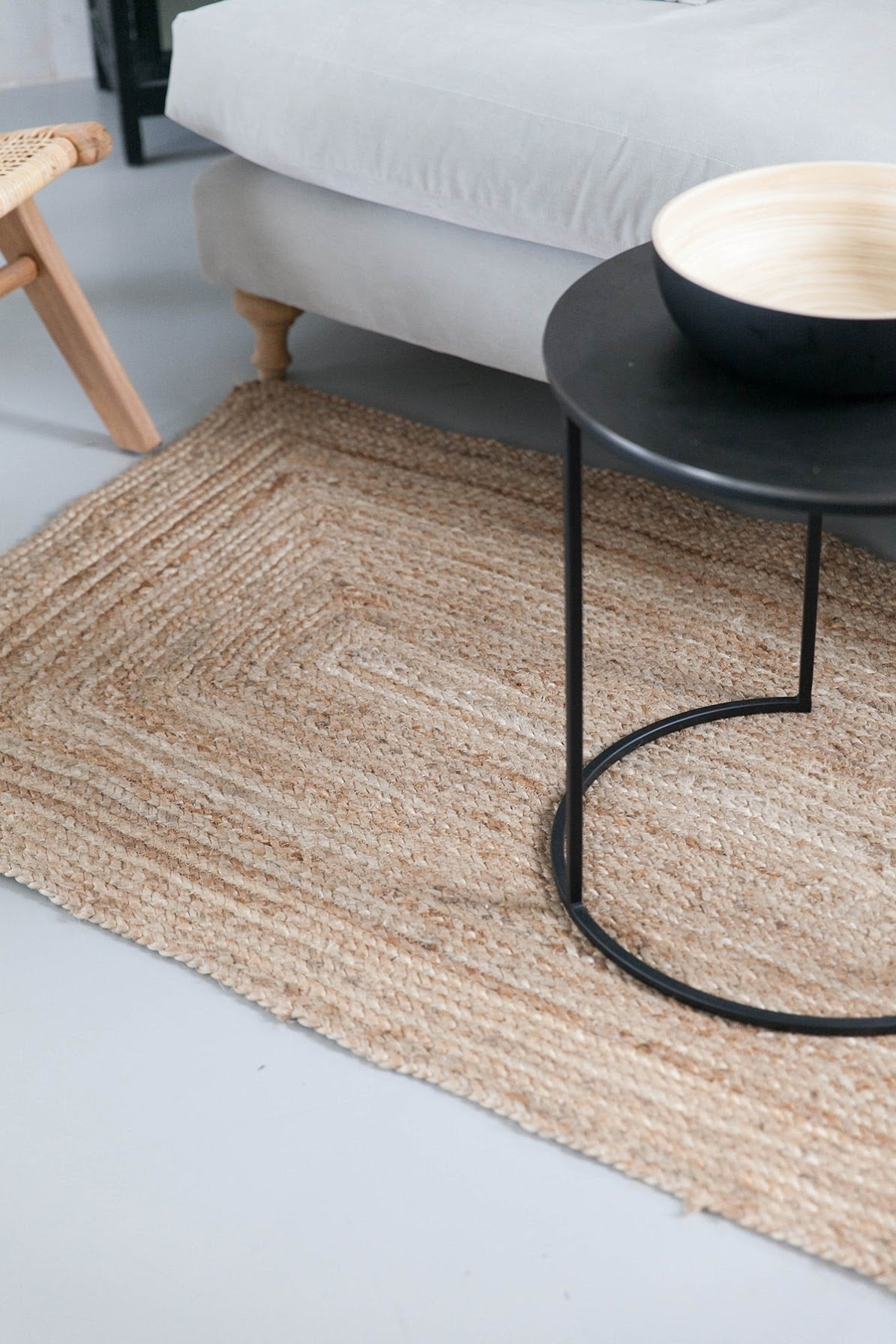 Braided Natural Rug