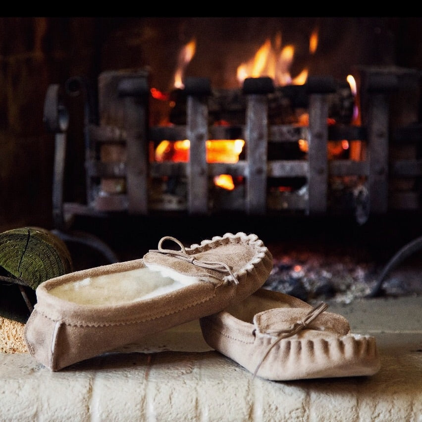 Men's Handcrafted Moccasin slippers