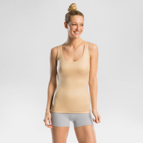 Assets by Spanx FS4915 In or Out Shaping Camisole Size MEDIUM Naked Beige NWT - Better Bath and Beauty