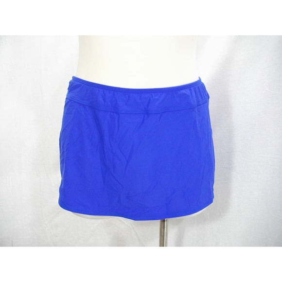 Athena AT23325 Finesse Aline Swim Suit Skirt Bottom Size 8 Blue New with Tags - Better Bath and Beauty