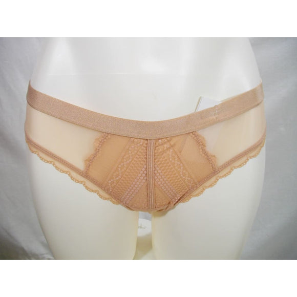 b.tempt'd by Wacoal 942243 b.cherished Thong Panty SIZE MEDIUM Mahogany Rose Nude NWT - Better Bath and Beauty