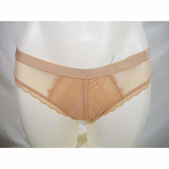 b.tempt'd by Wacoal 942243 b.cherished Thong Panty SIZE SMALL Mahogany Rose Nude NWT - Better Bath and Beauty