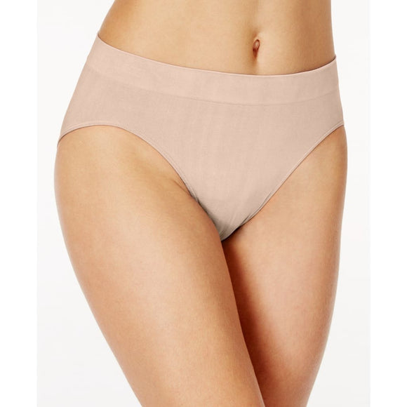 Bali 2362 One Smooth U All-Over Smoothing Hi Cut Brief Underwear XL Size 8 Nude - Better Bath and Beauty