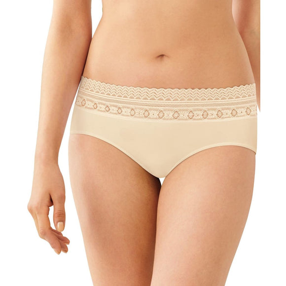 Bali 2990 Comfort Revolution Microfiber Seamless Hipster Underwear Size 10/11 Nude - Better Bath and Beauty