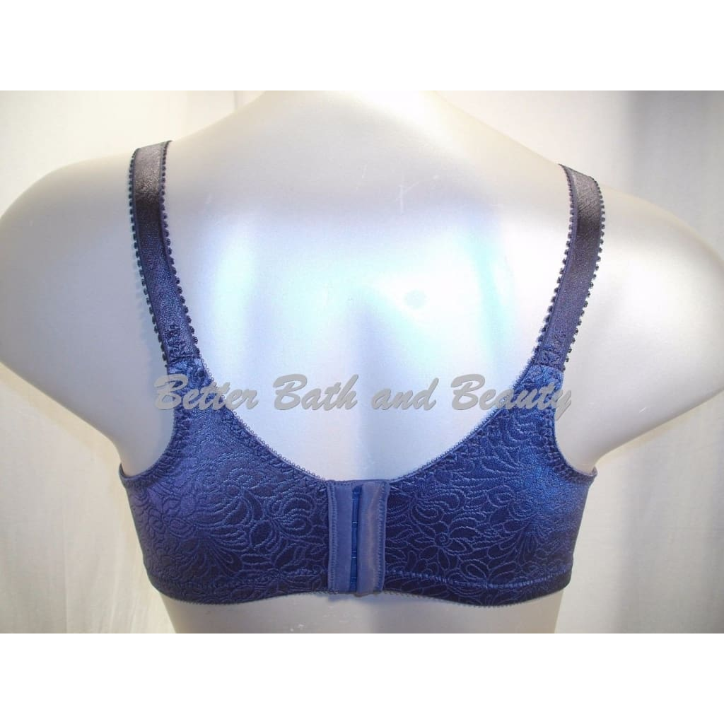 a82a00f24d ... Bali 3372 Double Support Spa Closure Wire Free Bra 36C Private Jet Gray  NWT - Better