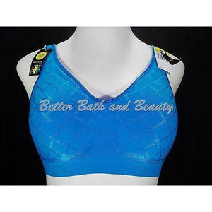 Bali 3484 Comfort Revolutions Smart Sizes Wireless Bra SMALL Blue DIAMOND - Better Bath and Beauty