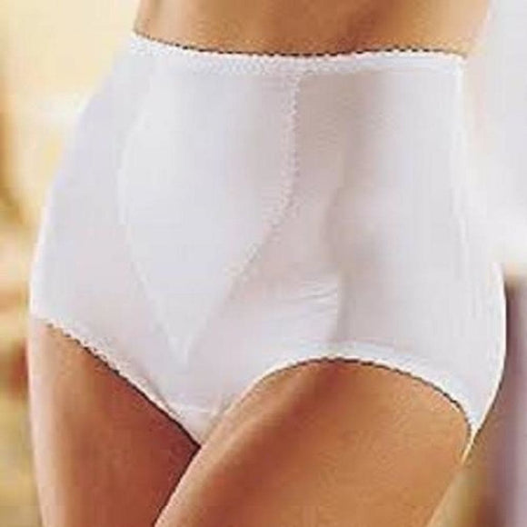 Bali 8710 Shapewear Moderate Control Tummy Panel Brief 3XL XXXL White NWT - Better Bath and Beauty