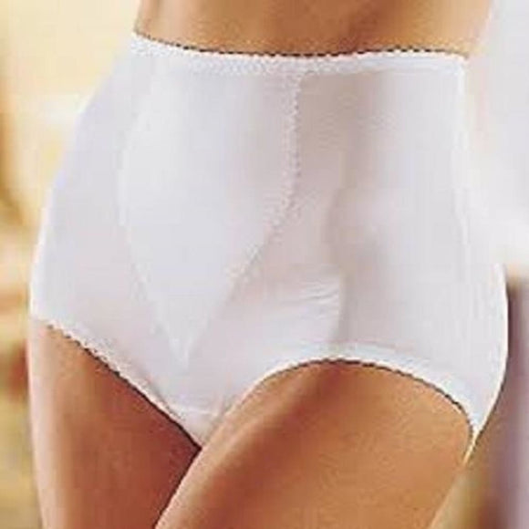 Bali 8710 Shapewear Moderate Control Tummy Panel Brief LARGE White NWT - Better Bath and Beauty