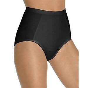 Bali Comfort Shape Seamless Brief X245 2XL XXL Black NWT - Better Bath and Beauty
