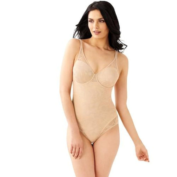 Bali DF6552 Women's Ultra Light Body Briefer 36B Nude NWT - Better Bath and Beauty