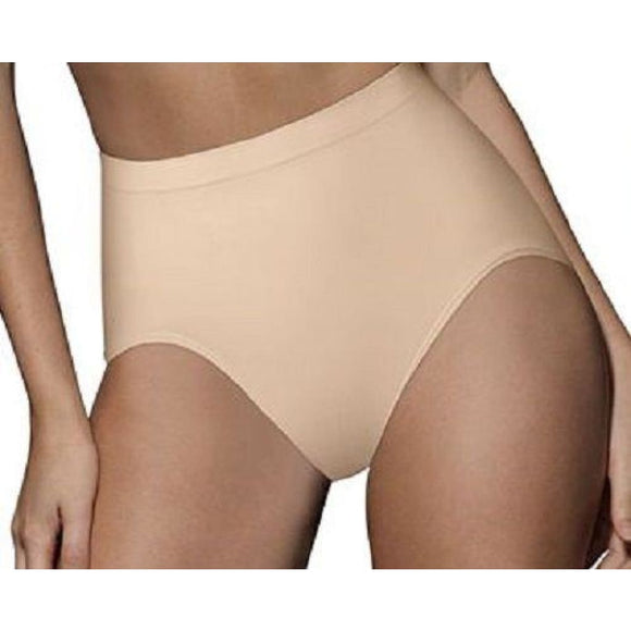 Bali Seamless Ultra Shaping Brief X204 X-LARGE Nude - Better Bath and Beauty