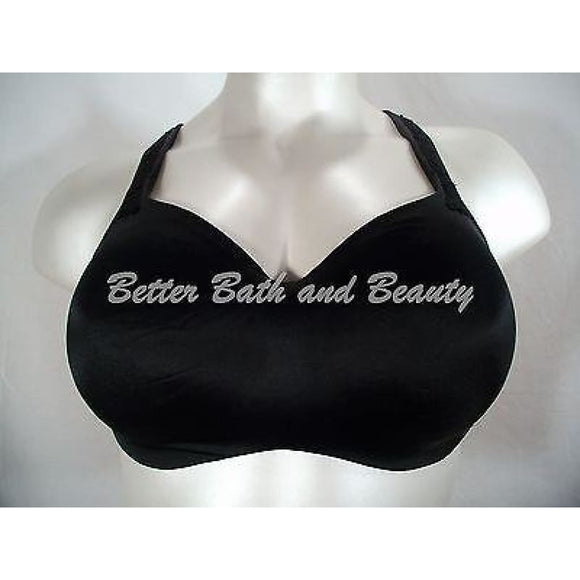 Cacique Seamless Cup Satin Hidden Underwire Bra 40D Black - Better Bath and Beauty