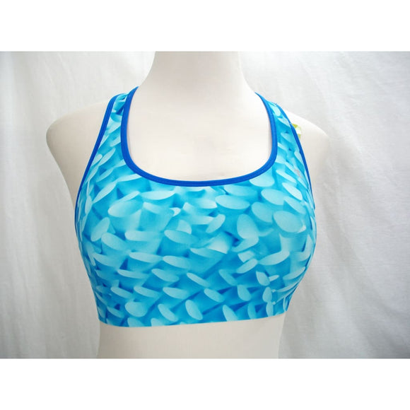 Champion B9504 Absolute Racerback Sports Bra with SmoothTec Band MEDIUM Blue Wave - Better Bath and Beauty