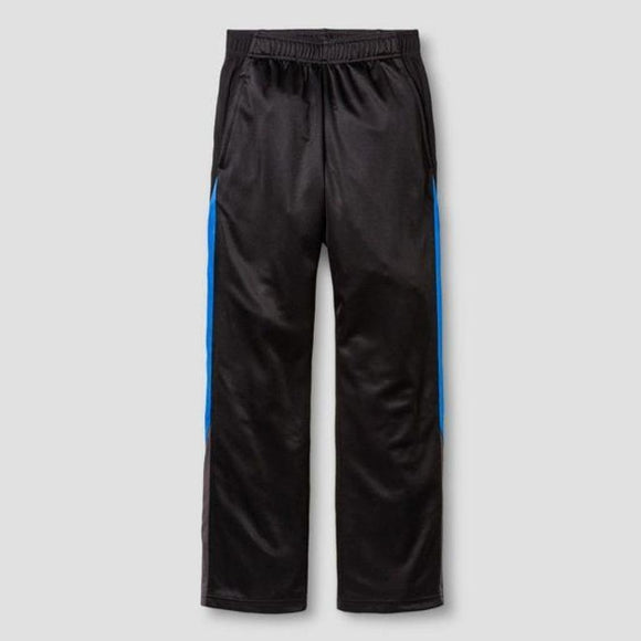 Champion C9 11891 Boys Knit Training Pants X-SMALL (4-5) Black & Blue - Better Bath and Beauty