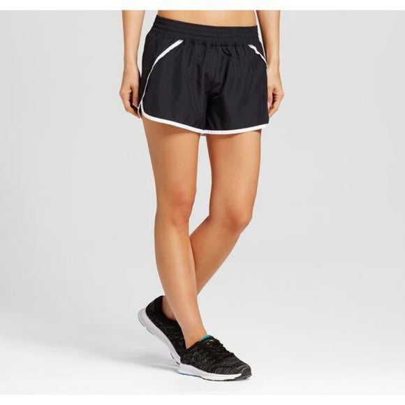 Champion C9 89861 Women Run Shorts with built-in Compression Shorts SMALL Black - Better Bath and Beauty
