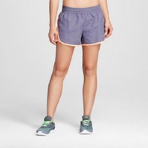 Champion C9 99009 Women's Run Shorts with built-in Panty SMALL Gray & Orange - Better Bath and Beauty