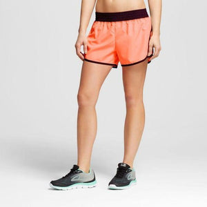 Champion C9 99009 Women's Run Shorts with built-in Panty XL X-LARGE Coral NWT - Better Bath and Beauty