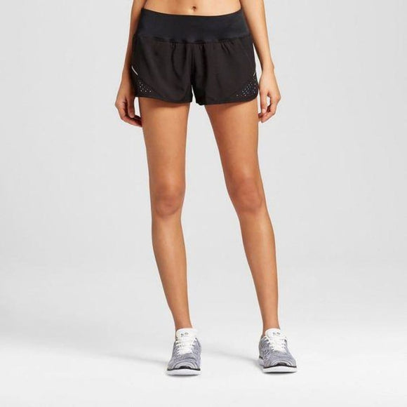 Champion C9 99061 Womens Premium Run Shorts XL X-LARGE Black NWT - Better Bath and Beauty
