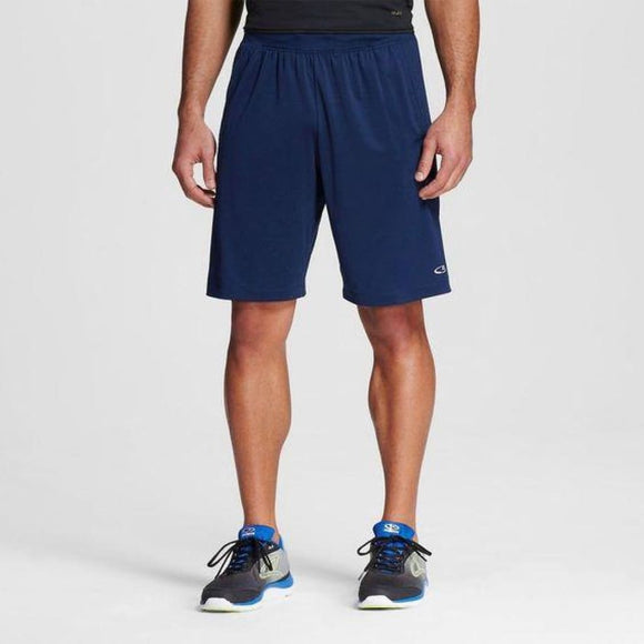 Champion C9 99074 Mens Premium Training Vent Shorts LARGE Dark Knight Blue NWT - Better Bath and Beauty