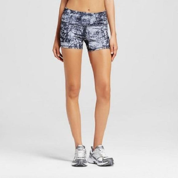 Champion C9 99109 Womens Freedom Core Boyshorts Shorts SMALL Black Multi - Better Bath and Beauty