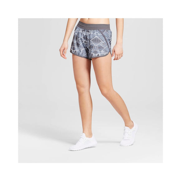 Champion C9 99150 Women's Run Shorts with built-in Panty 2XL XXL Gray - Better Bath and Beauty