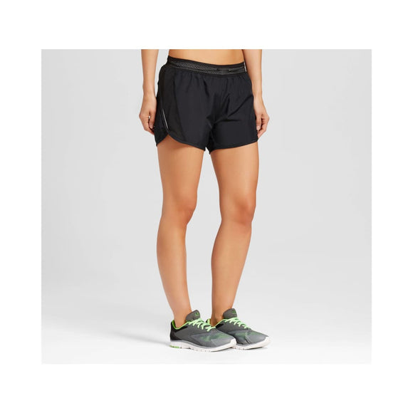 Champion C9 99151 Women's Fashion Run Shorts with built-in Panty LARGE Black NWT - Better Bath and Beauty