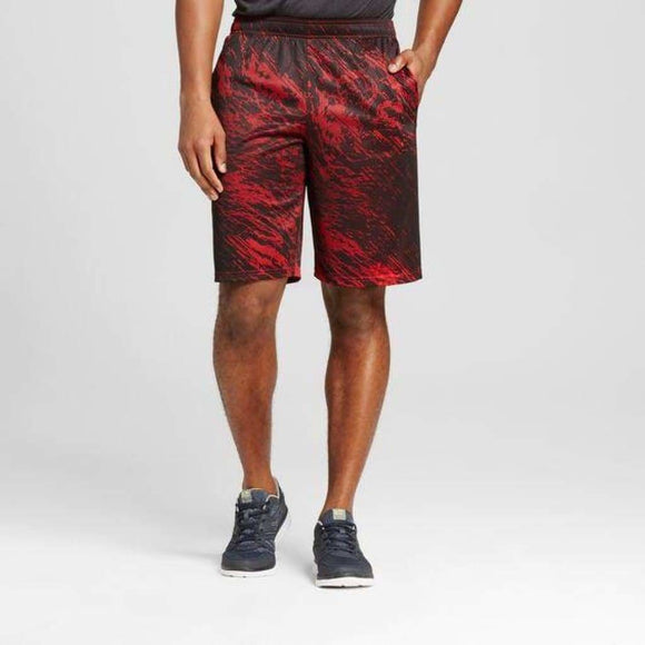 Champion C9 99163 Men's Circuit Training Shorts Size LARGE Cruising Scarlet NWT - Better Bath and Beauty
