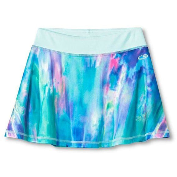 Champion C9 B9007 Girls Printed Performance Skort XS (4-5) Blue - Better Bath and Beauty