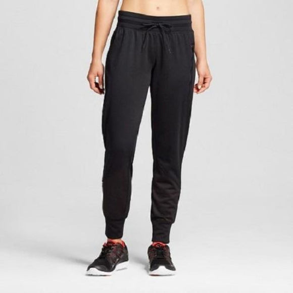 Champion C9 B9063 Womens Tech Fleece Jogger Novelty Pants Size XS X-SMALL Black - Better Bath and Beauty
