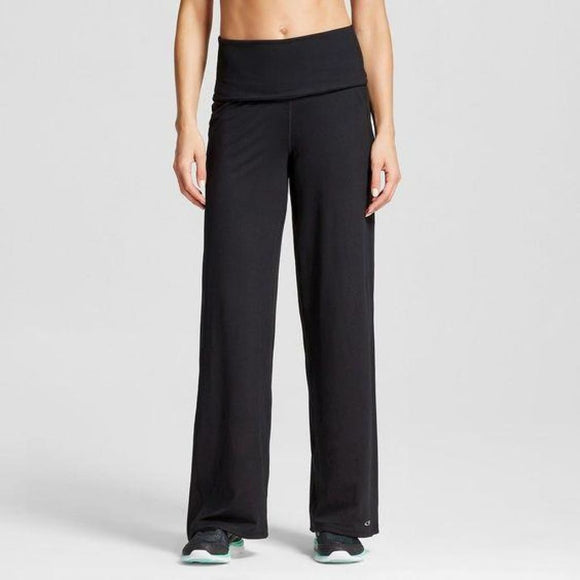 Champion C9 B9072 Womens Freedom Full Leg Pant Pants Size SMALL Black NWT - Better Bath and Beauty
