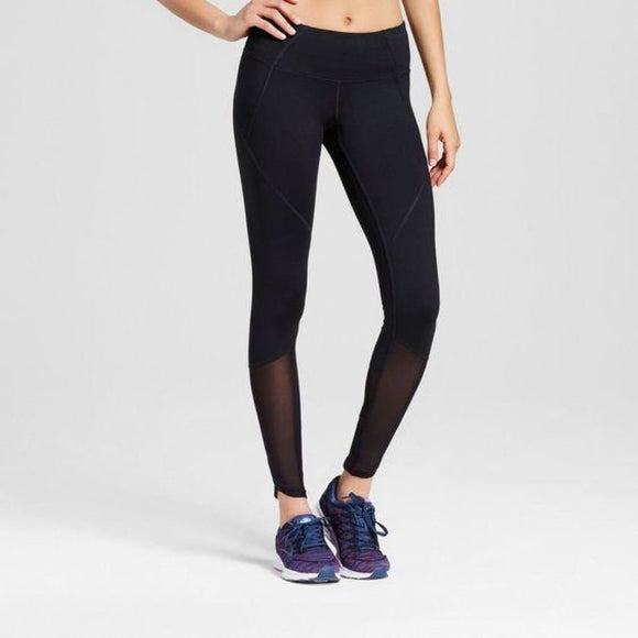 Champion C9 B9204 Premium Mesh Pieced Leggings XXL 2XL Black - Better Bath and Beauty
