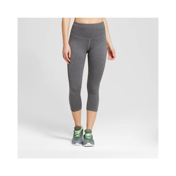Champion C9 B9234 High Waist Heather Textured Capri Leggings XS X-SMALL Gray - Better Bath and Beauty