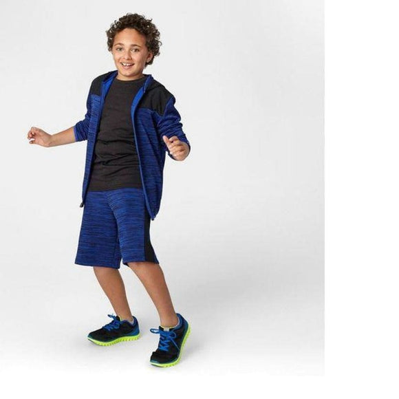 Champion C9 D9111 Boys Spring Fleece Full Zip Hoodie S (6-7) Blue NWT - Better Bath and Beauty