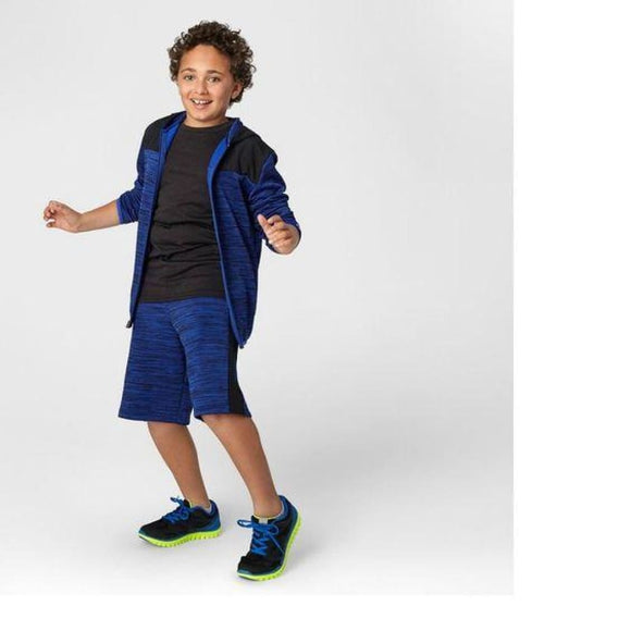 Champion C9 D9111 Boys Spring Fleece Full Zip Hoodie XS (4-5) Blue NWT - Better Bath and Beauty