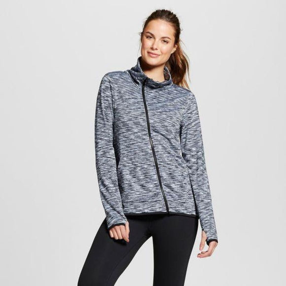 Champion C9 D9134 Women's Activewear Insulated Jacket LARGE Black & White - Better Bath and Beauty
