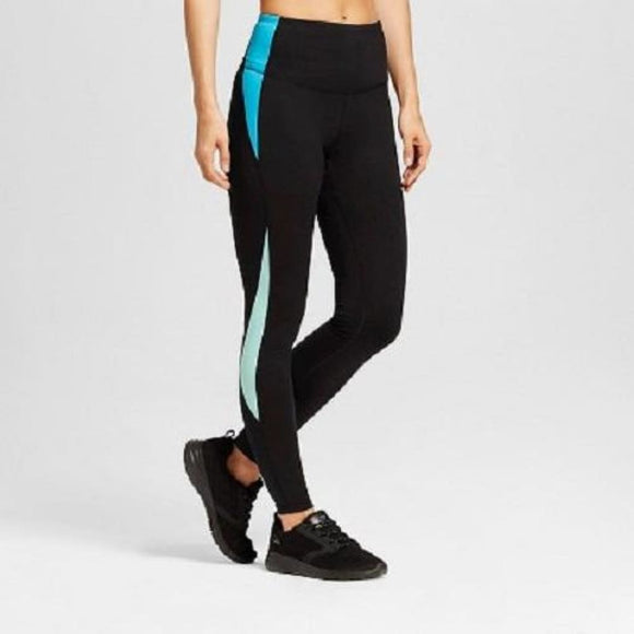 Champion C9 Freedom High Waist Leggings SMALL Teal Aqua & Black - Better Bath and Beauty