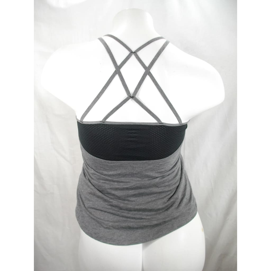 ceb58b5130 ... Champion C9 K9125 Multiple Back Strap Strappy Tank Top MEDIUM Gray &  Black NWT - Better ...