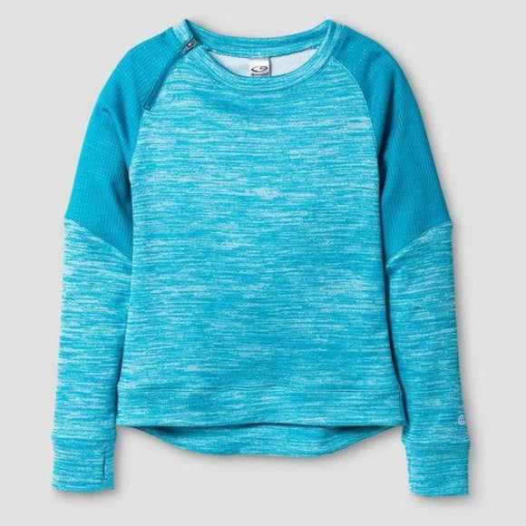 Champion C9 K9157 Girls' Spring Fleece Pullover M (7-8) Turquoise - Better Bath and Beauty