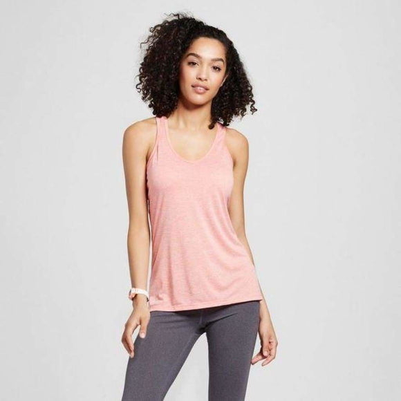Champion C9 K9191 Womens V-Neck Tank Top X-LARGE Ripe Papaya Coral NWT - Better Bath and Beauty