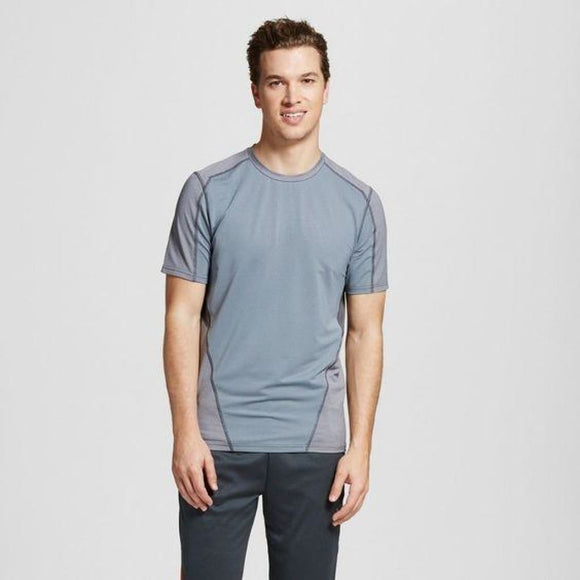Champion C9 K9212 Mens Speed Knit Fitted T-Shirt SMALL Concrete Gray NWT - Better Bath and Beauty